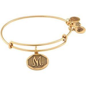 "Alex and Ani Initial ""M"" Bracelet"